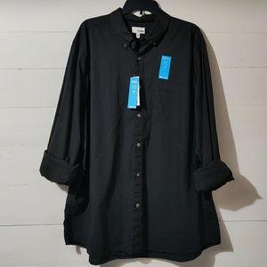 NWT Flex Wear Men's XXL Long Sleeve Button Up